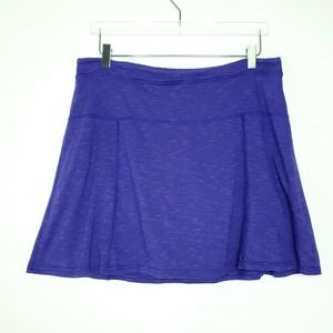 Toad & Co Samba Sereena Skort L Purple Stretch